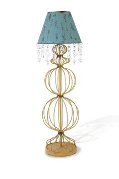 Topiary Lamp - Blue by Bohemian Lighting and Decor on @HauteLook
