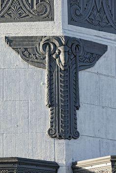 Art Deco Ram • Long Beach, California