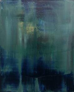 "Koen Lybaert; Oil 2013 Painting ""abstract N° 669 - SOLD"""