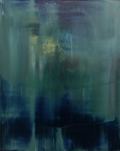 """Koen Lybaert; Oil, 2013, Painting """"abstract N° 669"""""""