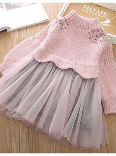 Little Girl Dresses, Blue Dresses, Girls Dresses, Cute Baby Dresses, Dresses Dresses, Dance Dresses, Baby Knitting Patterns, Smocking Patterns, Sewing Patterns