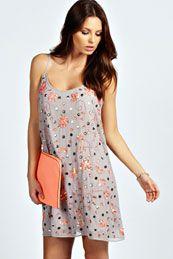Lucy Sequin Slip Dress