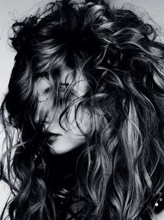 Wild Mane Editorials - The Magdalena Frackowiak Vogue Germany Photo Shoot Causes Serious Hair Envy (GALLERY)