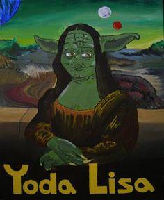 Yoda Lisa [Tony Juliano] (Gioconda / Mona Lisa)