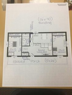 14x40 cabin floor plans tiny house pinterest cabin for 16x40 cabin floor plans