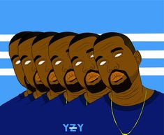 kanye west illustration Kanye West, Illustration, Movie Posters, Movies, Art, 2016 Movies, Film Poster, Films, Illustrations