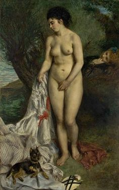 Great art from Art Authority for iPad: Bather with a Griffon dog by Renoir, Pierre-Auguste Pierre Auguste Renoir, Oil On Canvas, Canvas Prints, Art Prints, August Renoir, Griffon Dog, Art Sur Toile, Renoir Paintings, Amedeo Modigliani