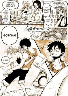 Luffy e Nami - One Piece Watch One Piece, One Piece Ship, One Piece Luffy, Anime One Piece, One Piece Comic, One Piece Fanart, Aladdin Magi, Robin Comics, Luffy X Nami