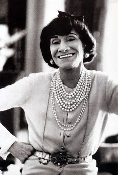 """Gabrielle """"Coco"""" Chanel, photographed by Ronny Jacques, Lausanne, Switzerland, 1969."""