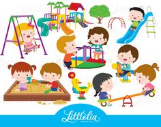 kids playground - playground clipart - 17005 by LittleLiaGraphic on Etsy https://www.etsy.com/uk/listing/496825894/kids-playground-playground-clipart-17005