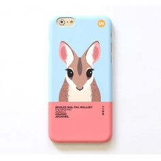 Nail tail Wallaby iPhone 6/6S Polyester Apple Case Skin Cover Sunsil Hwarang #SunsilHwarang