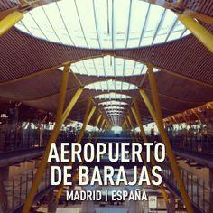 Empezamos nuestro viaje ... Aeropuerto de Madrid-Barajas (MAD)