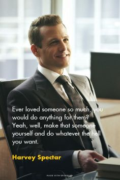 I dont know who Harvey Spectar is, but I agree with him. Wisdom Quotes, Quotes To Live By, Life Quotes, Reality Quotes, Success Quotes, Badass Quotes, Best Quotes, Harvey Specter Quotes, Suits Quotes