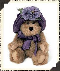 "Cassidy L. Bearsmark (Boyds Bear 6"" Fall 2002 Exclusive for Hallmark Gold Crown Stores, retired)"