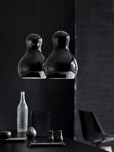 Copenhagen-based Komplot Design have created the Calabash pendant lamp for Lightyears.