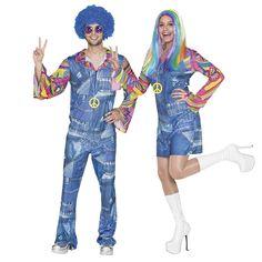 Pareja Hippies Vaqueros #parejas #disfraces #carnaval #novedades2016