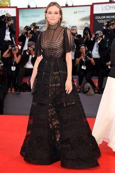 Venice Film Festival 2015 fashion dresses red carpet (Glamour.com UK)