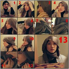 Hana Tajima hijab's style