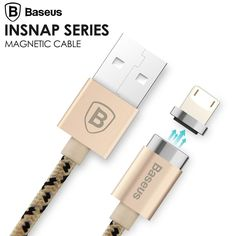 Cheap samsung magnet charger, Buy Quality cable micro usb cable directly from China micro usb cable Suppliers:         Baseus Magnetic Charging Cable Micro USB Cable Adapter Data Sync For iPhone 7 6S Plus 5S SE iPad Air mini
