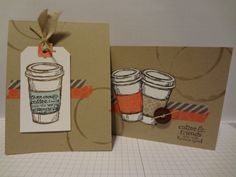 need more coffee by lizzier - Cards and Paper Crafts at Splitcoaststampers