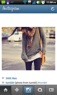 This will be my fall look - I've decided on layered shirts/sweaters, YOGA pants, boot socks and knee high boots. ery day, ery day!! ;)