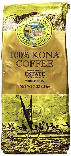 Royal Kona Whole Bean Coffee Estate Extra Fancy Medium Roast 044 Pound * You can get additional details at the image link. (This is an affiliate link) Vanilla Iced Coffee, Kona Coffee, Decaf Coffee, Coffee Type, Coffee Pods, Best Coffee, Coffee Shop, Coffee Club, Types Of Coffee Beans