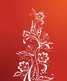 Red floral Royalty Free Stock Photos
