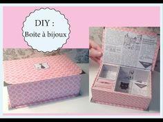 Avec de simples rectangles en carton, elle crée la plus magnifique des boîtes à bijoux - Bricolages - Trucs et Bricolages
