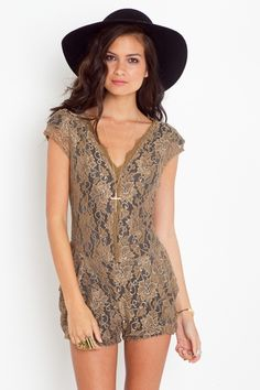 Louisa Lace Romper...want this dress