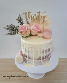 Lieblingskuchen Townsville August 2018 - celebs without makeup 40th Cake, 21st Birthday Cakes, Red Velvet Birthday Cake, Special Birthday Cakes, Bolo Red Velvet, Velvet Cake, Beautiful Cakes, Amazing Cakes, Mini Cakes
