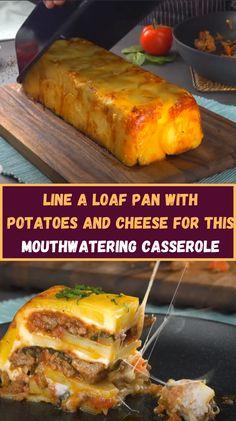 Potato Dishes, Beef Dishes, Potato Recipes, Venison Recipes, Ground Beef Recipes, Casserole Recipes, Beef Casserole, Potato Casserole, Food Hacks