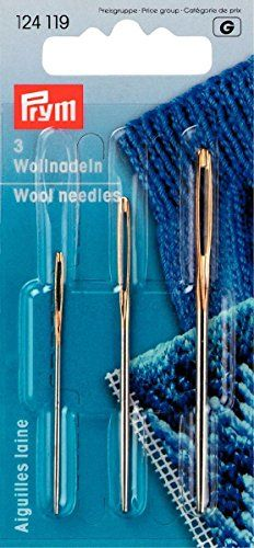 PRYM 124119 Wool and tapestry (smyrna) needles with gold eye No. Baby Knitting, Crochet Baby, Knit Crochet, Knitted Booties, Baby Booties, Cute Cat Wallpaper, Gold Eyes, Baby Crafts, Birthday Shirts
