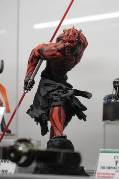 2013 San Diego Comic-Con (SDCC) - Kotobukiya #DarthMaul #Starwars #actionfigure