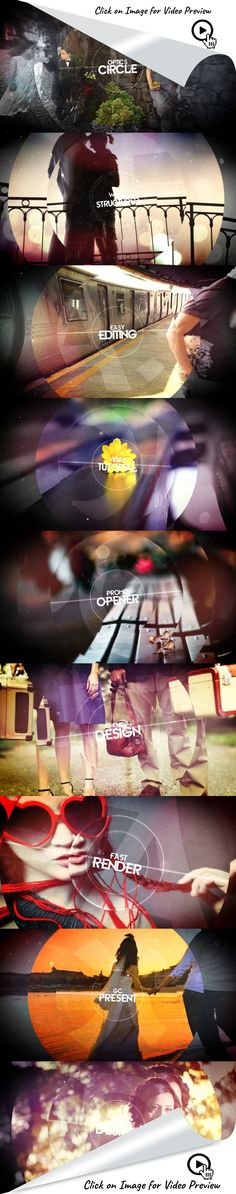 cinematic, circles, clean, corporate, dynamic, elegant, fashion, intro, new, opener, photo, show, stylish, titles, travel, after effects templates, after effects ideas, after effects intro, after effects intro, after effects motion graphics, intro ideas youtube, after effects projects, videohive projects Optics Circle  - All made in After Effects - Editable with After Effects  CS6 & Above - 1920×1080 Full HD resolution - Works with any frame rate - 36 Text Placeholders - 18 Media Place...