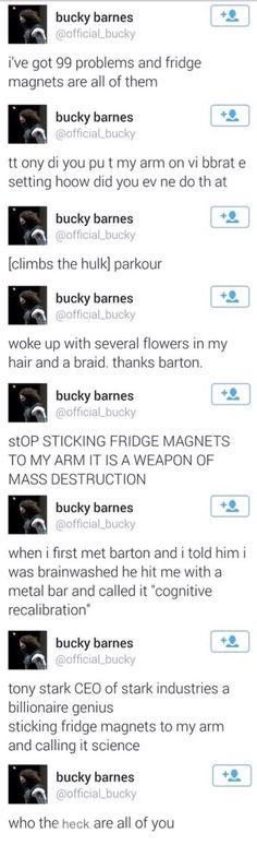 Bucky on Twitter