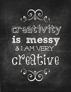 @Catherine Loeper  Mom!!!  I found the solution to your craft area... just post this on the wall... before you run out of wall space ;)