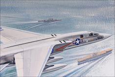 Roy Cross - North American RA-5C Vigilante (Close up)