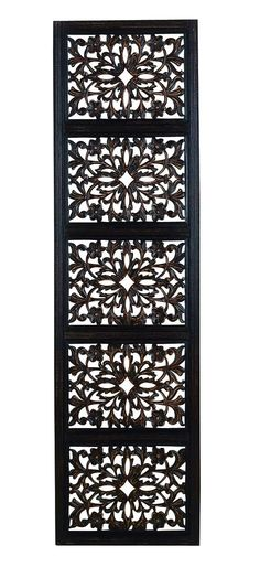Wood Carved Wall Decor oriental hand carved wood wall plaques. large square floral wood
