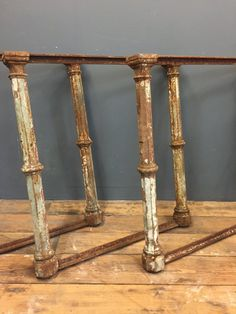 Cast iron Table Bases - Yew Tree Barn - Lake District