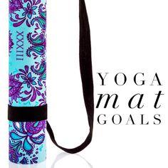 Freebird Yoga Mat by Free Thirty Three Yoga Design Co.