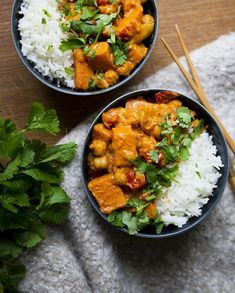 Bataatti-kikhernecurry - Feel Good Kitchen
