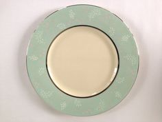 Castleton China Corsage Pattern Salad/Luncheon Plates by VintageTakes