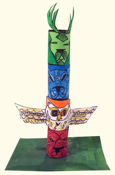 My Adventures In Positive Space: Native American Totem Poles