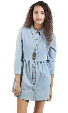 Kendra Denim Decor Dress