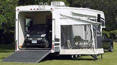 5th Wheel Toy Hauler   Glendale Titanium fifth wheel exterior toy hauler model