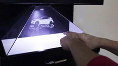 How to make 3D BIG Hologram  for 1 day - YouTube
