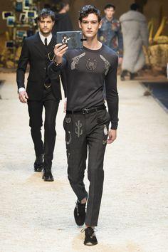 Défilé Dolce & Gabbana homme Automne-Hiver 2016-2017
