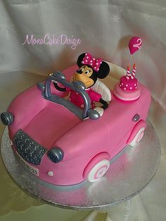 minnie car cake - Αναζήτηση Google