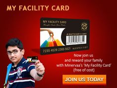 Register with MISEXAM.com and reward your family with minervaa's 'MY Facility Card' Free of cost.   #Scholarship #myfacilitycard #MISEXAM #Students