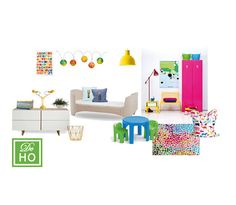 Kids Girl Bedroom project. Interior design service. E by DeHo